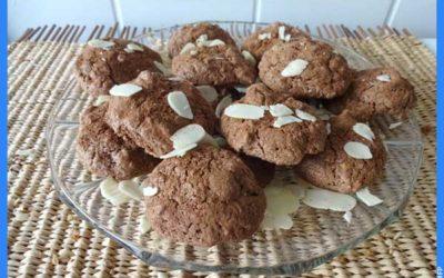 Les macarons au cacao de Philippe Renard