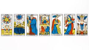 Tarot card draw