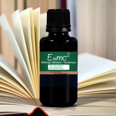 d'huiles essentielles : E=mc2