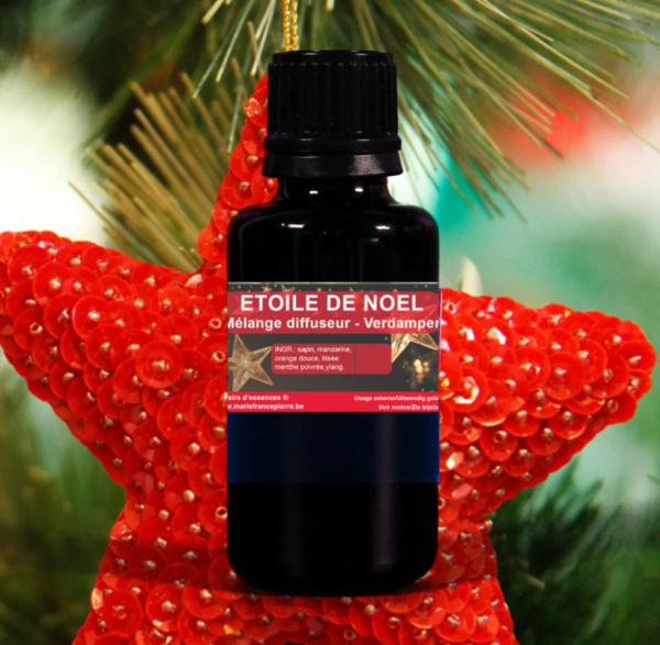 d'huiles essentielles : étoile de Noël
