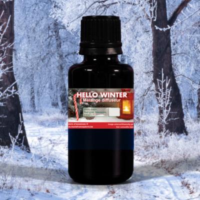 d'huiles essentielles : hello winter